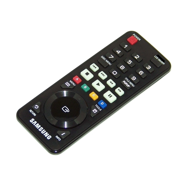 OEM Samsung Remote Control Originally Shipped With: BDC8000, BD-C8000, BDC8000/XAA, BD-C8000/XAA