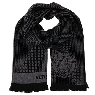 Versace IT00636 100% Wool Mens Scarf