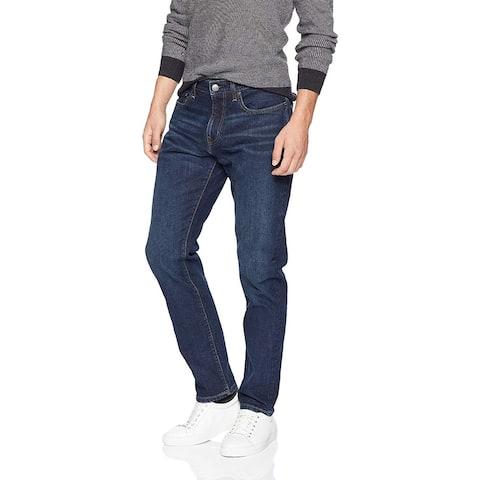 Essentials Men's Athletic-Fit Stretch Jean, Dark Wash, 34W x 32L - 34W x 32L