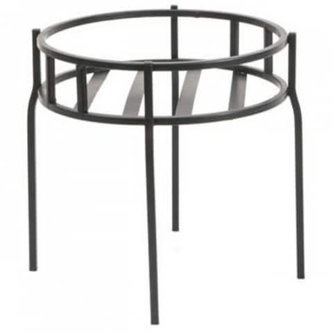Panacea 86615 Contemporary Plant Stand, Black Powder Coated Steel, 10.5""