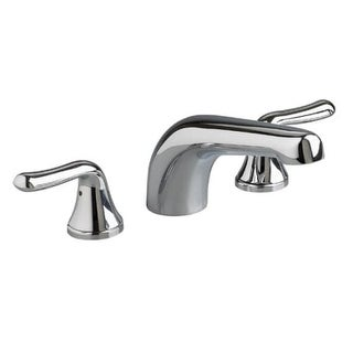 American Standard T975.500 Double Handle Roman Tub Filler Faucet Trim Only with Non-Diverter Tub Spout from the Colony