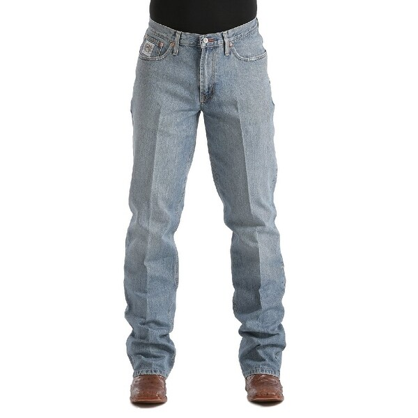 Cinch Western Jeans Mens Denim White Label Relaxed Fit. Opens flyout.