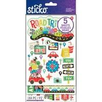 Road Trip - Sticko Flip Pack