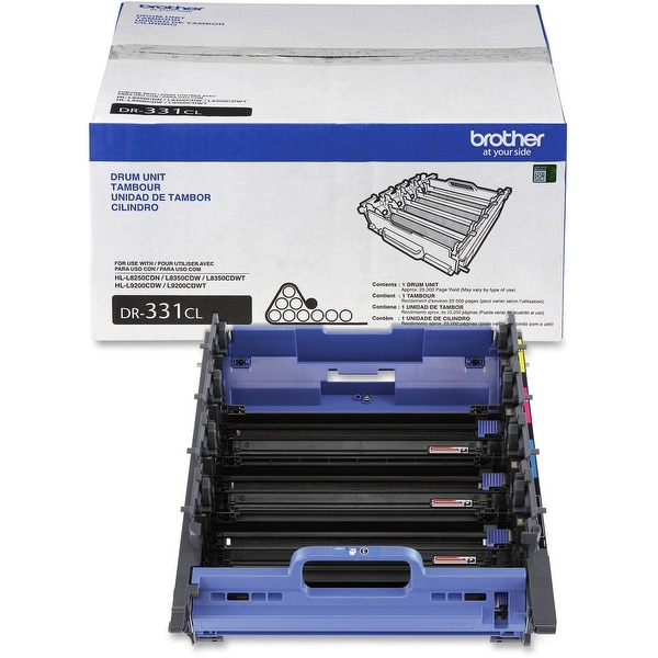 Brother Dr331cl Drum Unit Set (Yields Approx. 25,000 Pages)