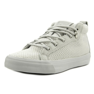 Converse All Star Fulton Mid Women Round Toe Canvas White Sneakers