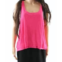 Abound Women's Large Tank Cami Scoop-Neck Layered Blouse