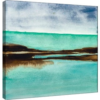 "PTM Images 9-100976  PTM Canvas Collection 12"" x 12"" - ""Shore IV"" Giclee Coastlines Art Print on Canvas"