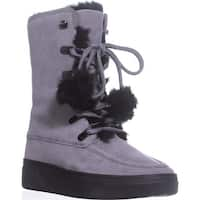 MICHAEL Michael Kors Juno Lace Up Lined Snow Boots, Storm