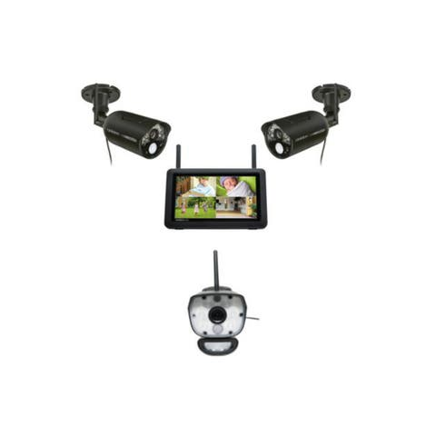Uniden UDR777HD plus ULC58 - 1 Video Surveillance System w/ 7 Inch HD Monitor