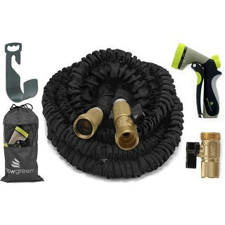 Garden Hose, 25 Feet Heavy Duty Expandable Hose Set