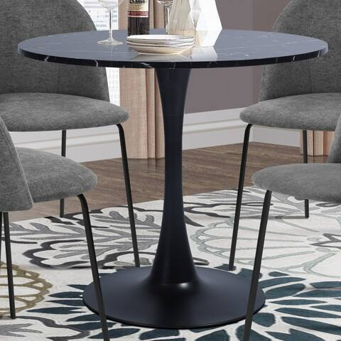 Furniture R Modern Round Pedestal Dining Table
