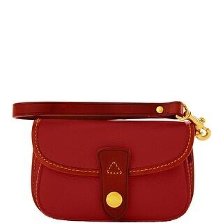 Dooney & Bourke Eva Flap Wristlet (Introduced by Dooney & Bourke at $68 in Jul 2014) - Cranberry