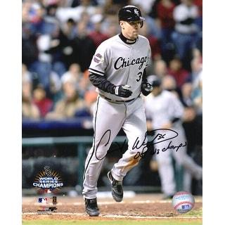 Chris Widger Chicago White Sox 2005 World Series 8x10 Photo W05 WS Champs