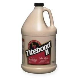 Titebond 3706 Dark Wood Glue, 1 Gallon, Brown