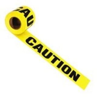 "Irwin 66231 Caution Tape, 1000' x 3"""