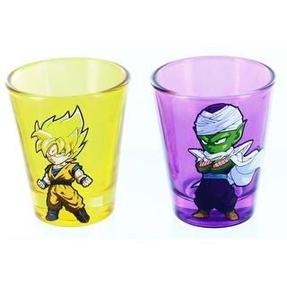 Dragonball Z 2-Piece Shot Glass Set Super Saiyan & Piccolo