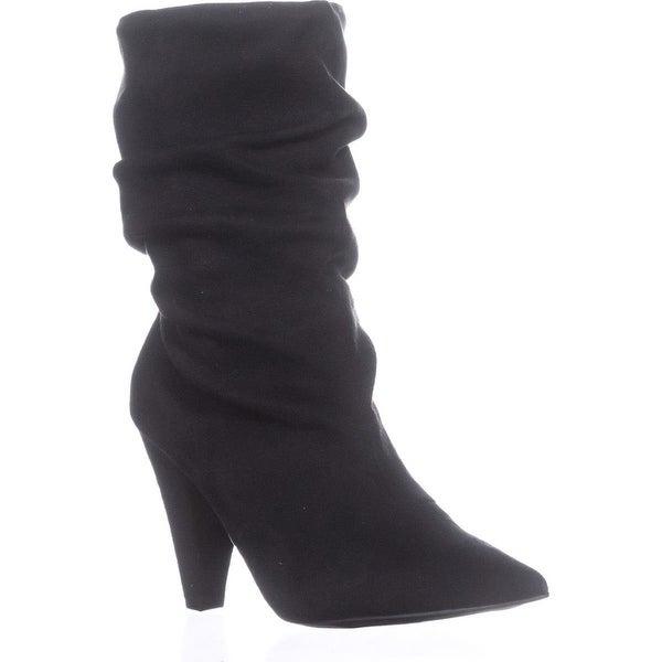 Carlos By Carlos Santana Elouise Slouch Boots, Black - 7 us / 37 eu