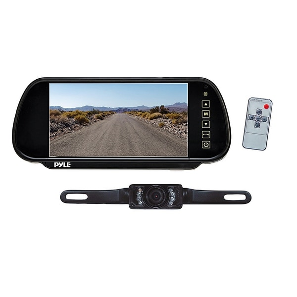 "Pyle 7"" rear view mirror monitor"