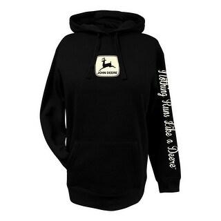 John Deere Western Sweatshirt Womens NRLAD Fleece Hoodie 23025412