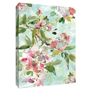 """PTM Images 9-148620  PTM Canvas Collection 10"""" x 8"""" - """"Spring Blossoms I"""" Giclee Flowers Art Print on Canvas"""