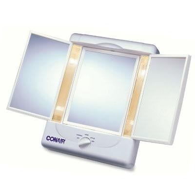 Conair Tm7lx Reflections Two-Sided Lighted Makeup Mirror - White