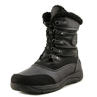 Totes Vail Women  Round Toe Synthetic Black Snow Boot