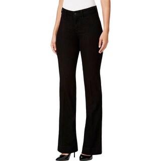 NYDJ Womens Teresa Flare Jeans Tummy Control Mid-Rise