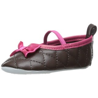 Luvable Friends Quilted Mary Jane Shoe