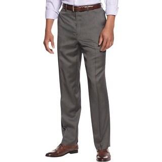 Sean John Mens Dress Pants Pindot Straight Leg