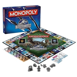 Jurassic World Monopoly Board Game