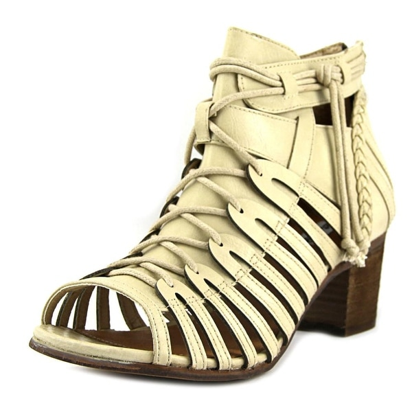 Not Rated Cupertine Women Open Toe Synthetic Nude Gladiator Sandal