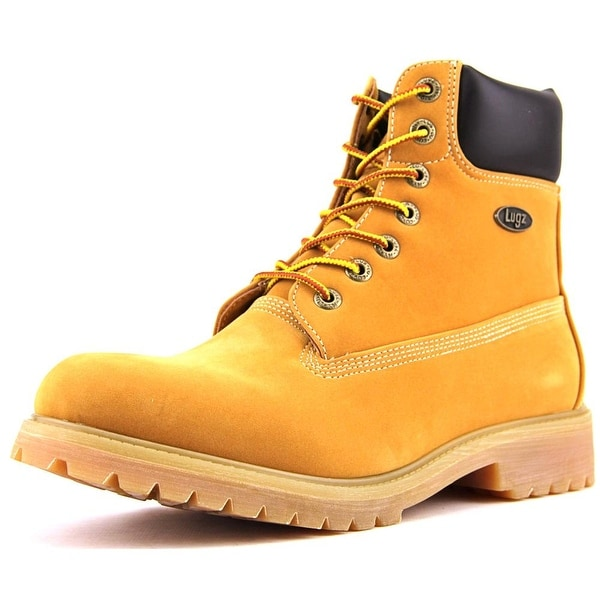 Lugz Convoy WR Men  Round Toe Synthetic Tan Work Boot