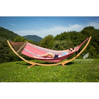 Swan Comfort Extra Heavy Duty Swing Cotton Hammock