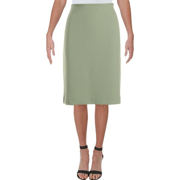 Tahari Asl Womens Pencil Skirt