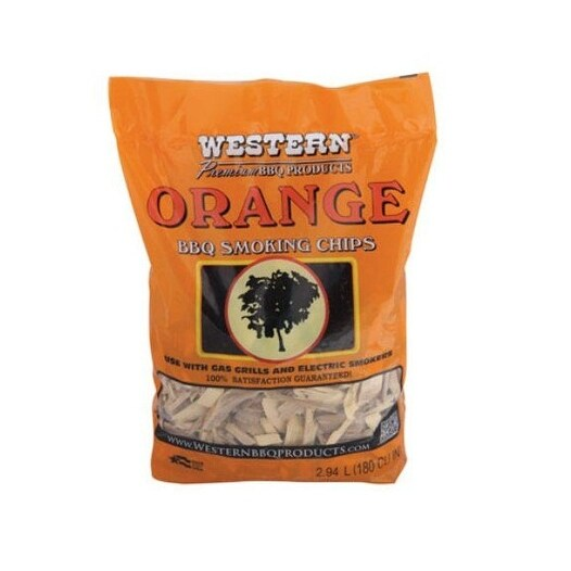 Western 28069 BBQ Smoking Chips, Orange Flavor, 2.25 lbs