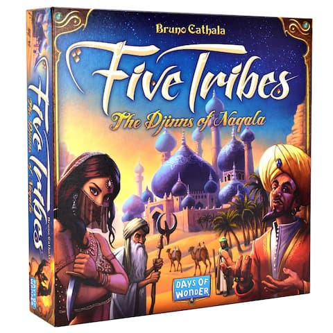 Five Tribes Board Game - Multi