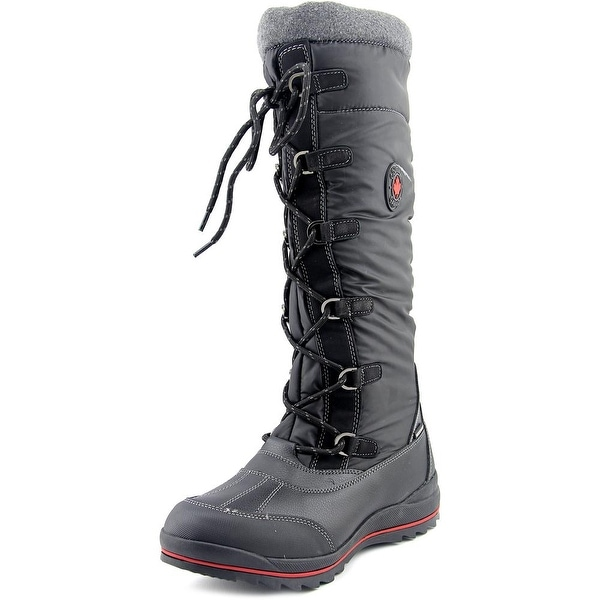 Cougar Canuck Women  Round Toe Synthetic Black Snow Boot