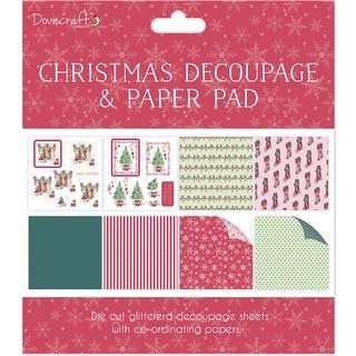 "Dovecraft Decoupage & Paper Pad 8""X8"" -Scenes"