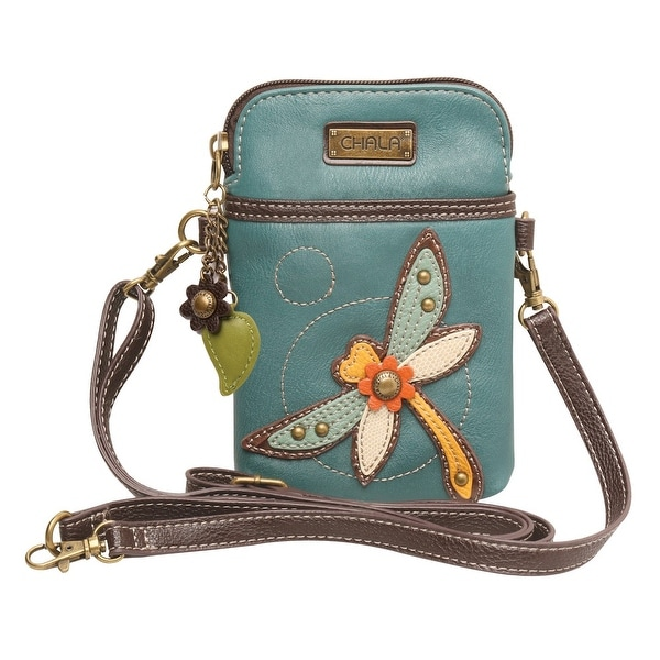 Women's Colorful Critters Three-In-One Crossbody Bag - Faux Leather