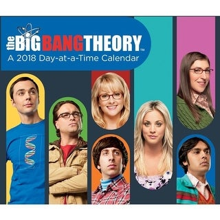 The Big Bang Theory 2018 Day-at-a-time Calendar - multi