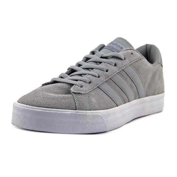 extremadamente Lavandería a monedas Él  Adidas Neo Cloudfoam Super Daily Men Round Toe Suede Gray Sneakers -  Overstock - 17983598