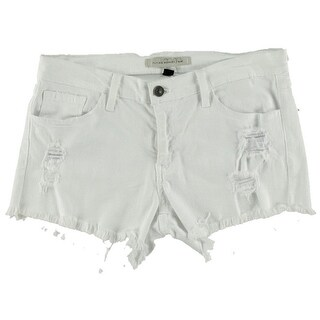 Flying Monkey Womens Destroyed Cutoff Denim Shorts