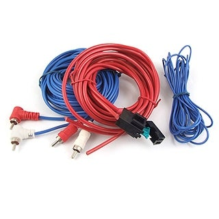 Unique Bargains Car Fuse Holder Audio Power Cable Amplifier Wiring Kit