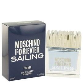Moschino Forever Sailing by Moschino Eau De Toilette Spray 1.7 oz - Men