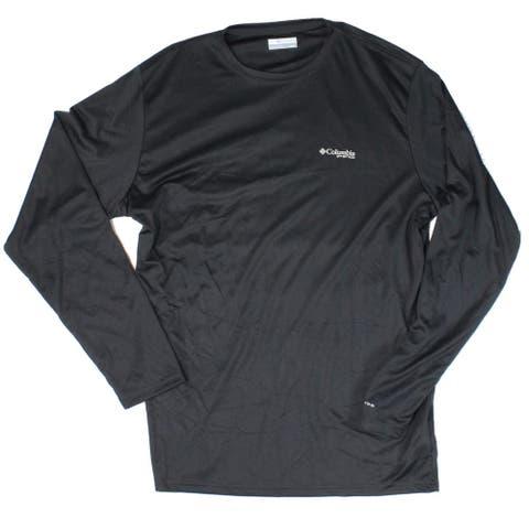 Columbia Mens T-Shirt Black Size Small S Terminal Tackle Flag Tee