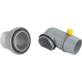Camco 4N1 Elbow Sewer Adapter
