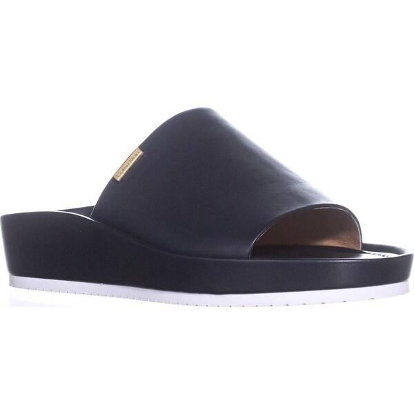 Calvin Klein Hope Slide Sandals, Deep Navy