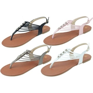 Link to Vivika Strappy Gladiator Sandals Just For Vacation Similar Items in Women's Shoes