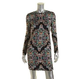 Artelier by Nicole Miller Womens Lined Long Sleeve Wear to Work Dress - 4