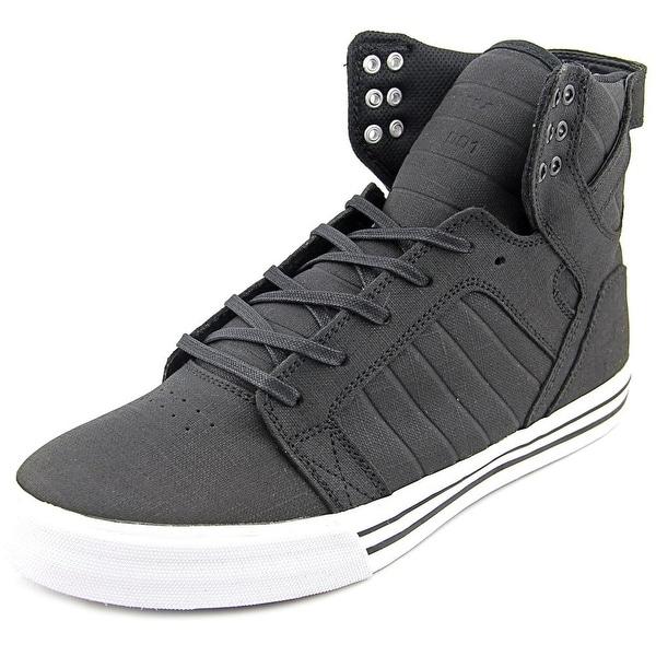 Supra Skytop Round Toe Leather Skate Shoe